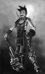Steam Punk Mechanic Redux by cwalton73