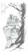 Monsternomicon 2 - Woldwatcher by cwalton73