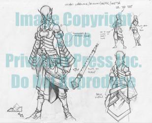Minion Warlock Dahlia Hallyr by cwalton73