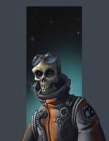 Phantom Space Man by cwalton73