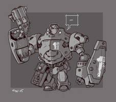 Mecha Sketch 10 by cwalton73