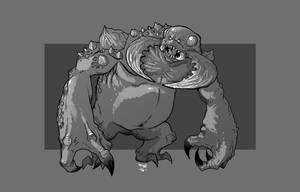 Umber Hulk by cwalton73