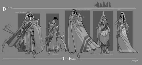 Dune - The Fremen by cwalton73