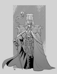 Inquisitoral Matriarch by cwalton73