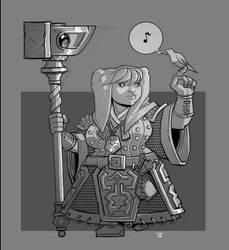 Dwarf Cleric by cwalton73