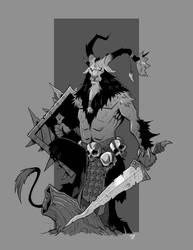 Beast King by cwalton73