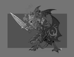 Dragonbjorn Warrior by cwalton73