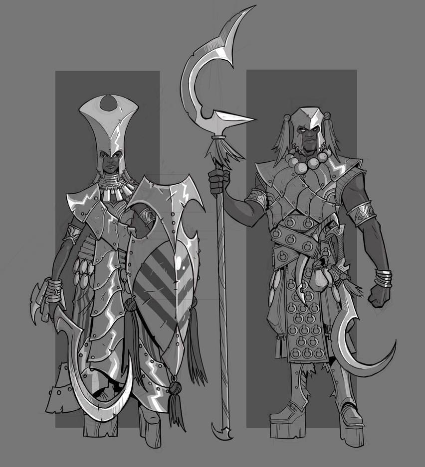 Ansuri Fighters by cwalton73
