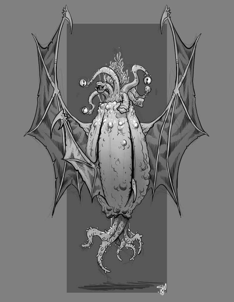 Elder Thing by cwalton73