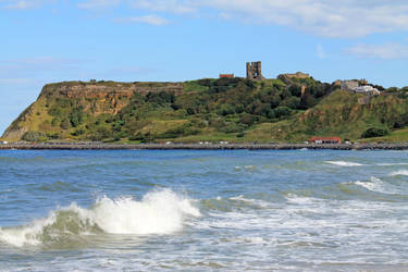 Scarborough Castle by traxy