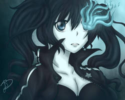 Black rock shooter by Manami1625