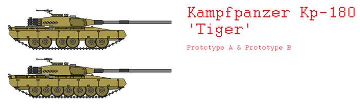 Kampfpanzer Kp-180 Tiger by IgnatiusAxonn