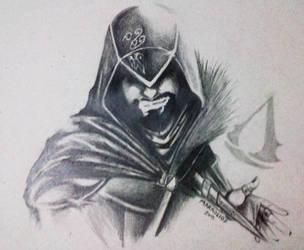Ezio FanArt by markolios