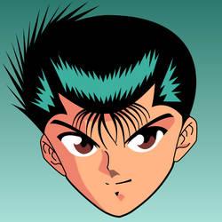 Yusuke Urameshi by markolios