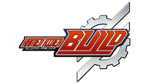 Kamen Rider Build logo romanized by markolios