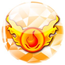 (commission)Fire Symbol by markolios