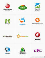 Logofolio for 2011 - dsquaredgfx by dsquaredgfx