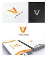 Weniversal Logo Design by dsquaredgfx