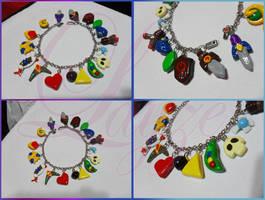 Zelda Ocarina of Time bracelet by LayzeMichelle