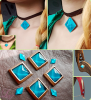 COMMISSION: Linkle's stones by LayzeMichelle