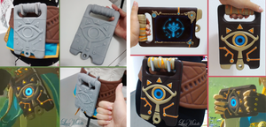 PROGRESS: Sheikah Slate from Breath of the Wild by LayzeMichelle