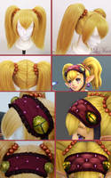 PROGRESS: Princess Agitha's wig by LayzeMichelle