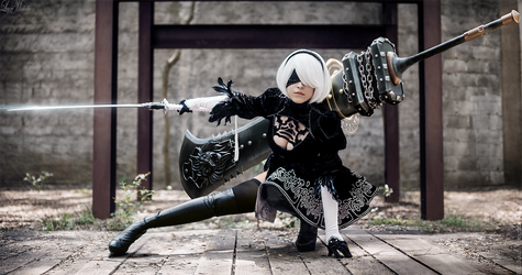 YoRHa No.2 Type B by LayzeMichelle