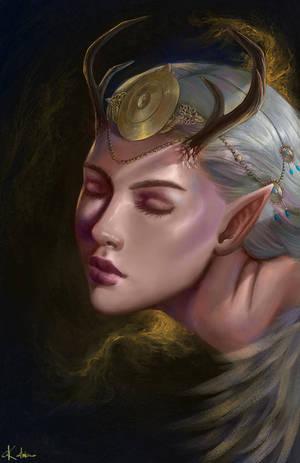 Elven Queen by katrimav