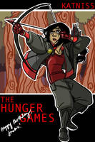 Katniss Colored by Microbluefish