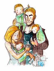 Buffy Babies by Microbluefish