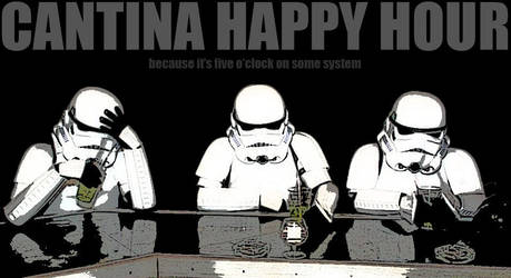 Cantina Happy Hour by AshPnX