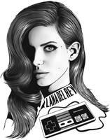 Lana Del Rey - Video Games by SimonPovey