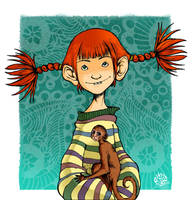 Pippi Calzelunghe by gianlucagalati