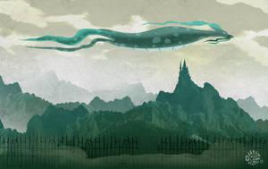 Creatura volante by gianlucagalati