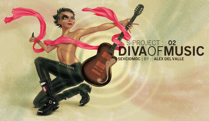 Diva of music by AL3X-MTY