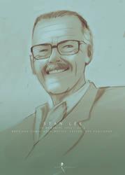 Stan Lee by AL3X-MTY