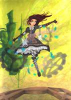 Steampunk Alice by Sahan