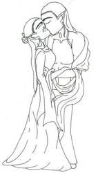 The First Kiss by Legolas-Club