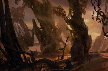 trees by jonone