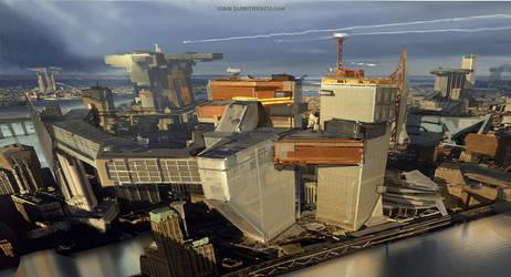 Rooftopcity by jonone