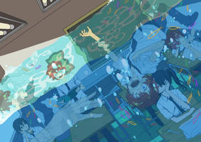 The Drowned Classroom by tinhan