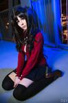 Fate/Stay Night - Rin Tohsaka by KiaraBerry