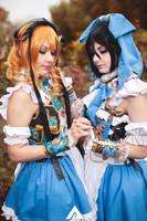Adekan - Anri and Shiro (Alice in Wonderland) 2 by KiaraBerry