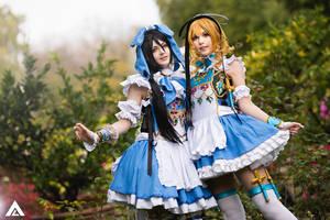 Adekan - Anri and Shiro (Alice in Wonderland) 3 by KiaraBerry