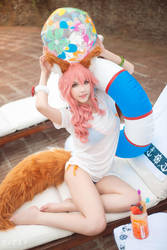 Fate/Grand Order - Tamamo lancer 4 by KiaraBerry