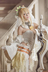 Fate/Grand Order - Saber Nero Bride 2 by KiaraBerry
