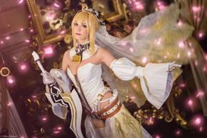 Fate/Grand Order - Saber Nero Bride 5 by KiaraBerry