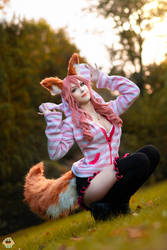 Fate/Extra CCC - Tamamo (casual wear) 3 by KiaraBerry