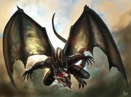 Battle Skies Dragons - Character card 1 by AlexanderLevett