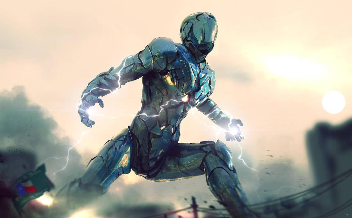 Jaeger - Arclight by AlexanderLevett